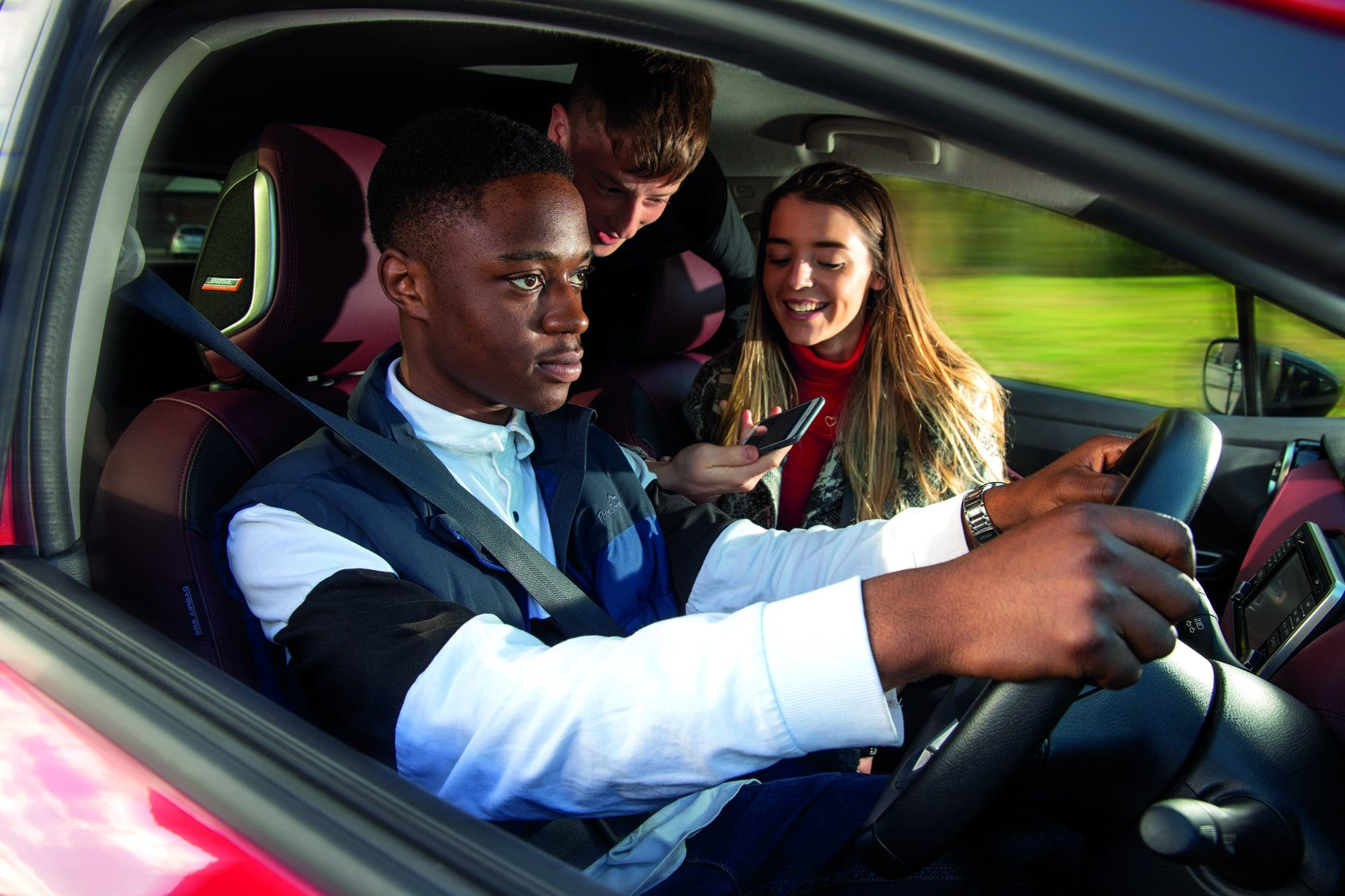 Dealing with distractions: keep your eyes on the road